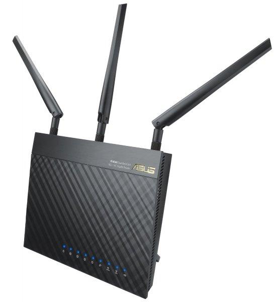 Asus RT-AC66U AC1750 für 120€ - WLAN Router @Amazon.de