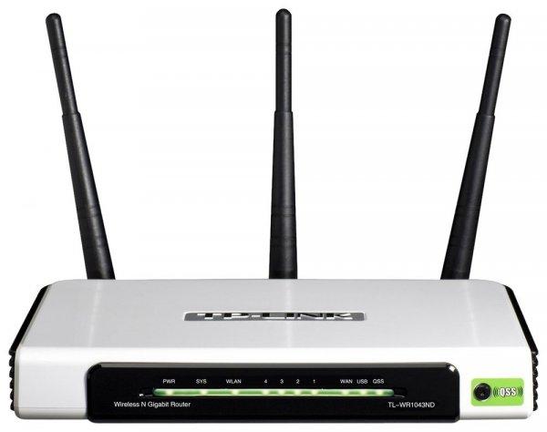 TP-Link TL-WR1043ND für 35,90 € - WLAN Router