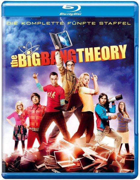 UPDATE: The Big Bang Theory Staffel 5 (Blu-Ray) - 21,97 EUR / DVD für 12,99 EUR (Amazon Prime, ggf. 3 EUR Versand) @ Amazon.de