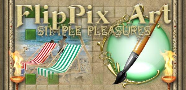 [android] FlipPix Art - Simple Pleasures [app of the day -> amazon]