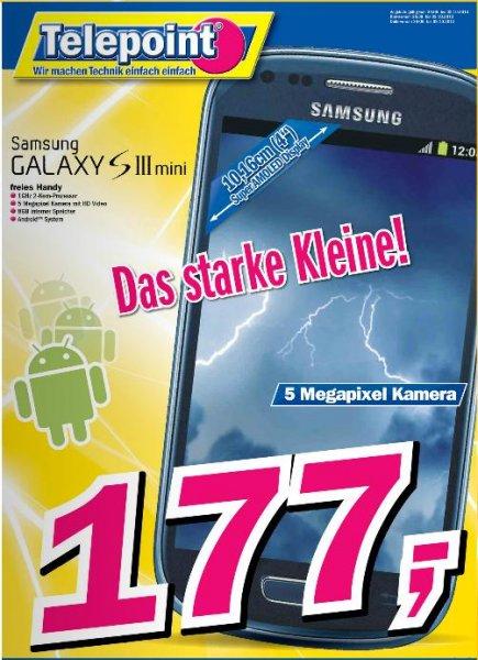 [Lokal?] Samsung Galaxy S3 mini 177,- € Telepoint