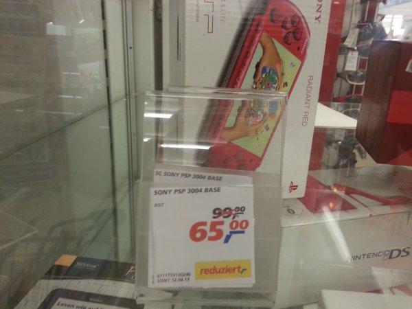 [lokal Mainz] Sony PSP 3004, rot, neu, 65 Euro