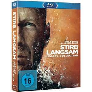 Stirb Langsam 1-5 - Legacy Collection für 32,74 € @ Conrad.de