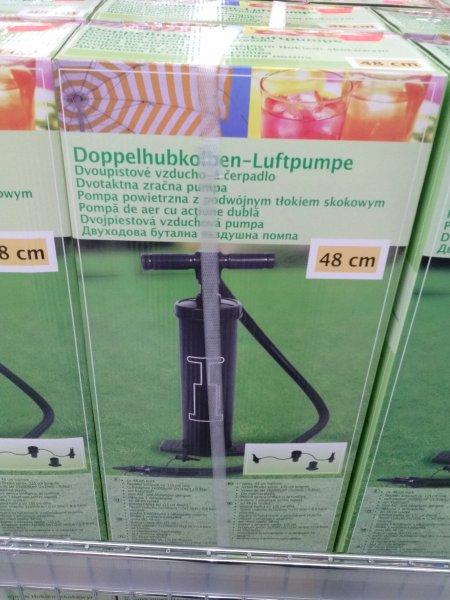 [Lokal Dortmund] Doppelhubkolben luftpumpe 1,99 statt 7,99