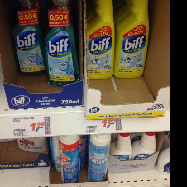 Real: Biff unterschiedliche Sorten