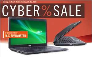 "Acer TravelMate 5740-373G32N / 15"" Mattes Display / Win7HP /  Core-i3 / 3GB RAM / für 338€ @Cyberport"