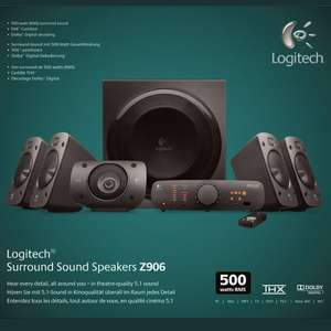 Logitech Z906  5.1 Soundsystem für 179,- Saturn Bremen City