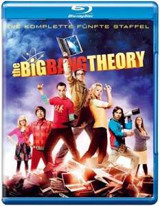 Big Bang Theory - Staffeln 1-4 = 9,99, Staffel 5=12,99 bei Amazon