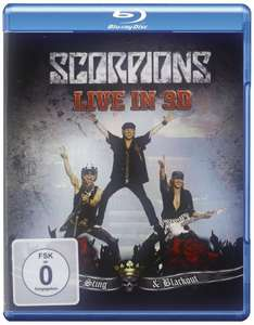 Scorpions: Live In 3D - Get Your Sting & Blackout  BLU-RAY @Amazon