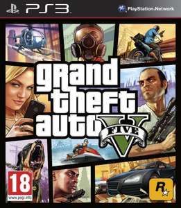 GTA V PS3 - Amazon UK / FT Toys - 48,54 €