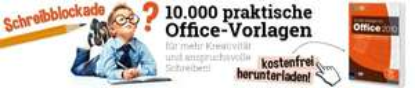 10.000 Office-Vorlagen kostenfrei herunterladen