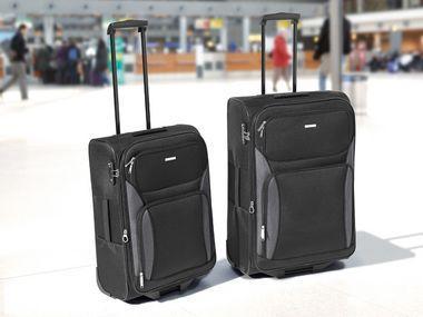 TOPMOVE Trolley-Boardcase / Trolley-Reisekofferset, 2-teilig @LIDL