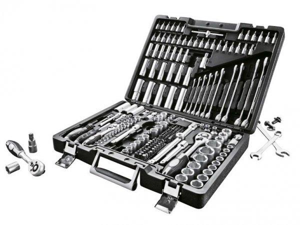 [Lidl Online] POWERFIX Werkzeugkoffer 216-teilig für 84,94€
