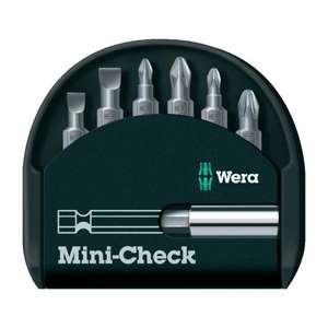 Wera Bit-Set Mini-Check 7-tlg. 05056295001