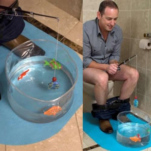 Klobeschäftigung für echte Kerle - Fischen für ~9,12 @ the Hut