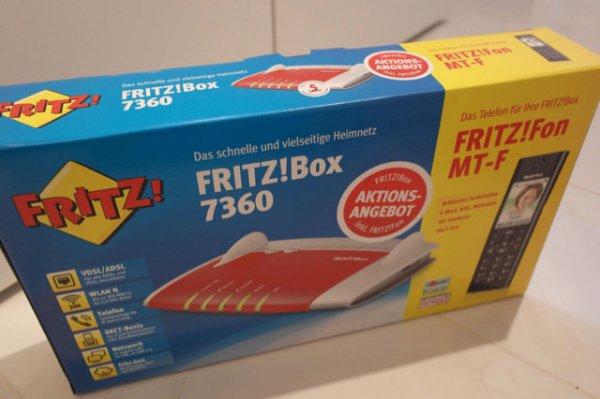 [lokal MediaMarkt Alzey] fritz!box 7360 Inc. Fritz!Fon MT-F