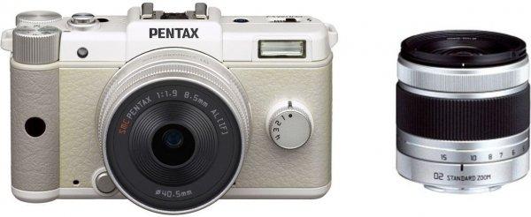 Pentax Q Kit 8,5 mm + 5-15 mm weiß für 269€ @AFA Fotohandel
