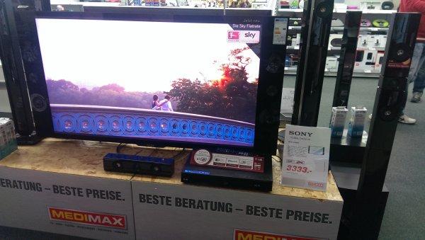 (Lokal Medimax Halle-Neustadt) Sony KD-55 X9005A