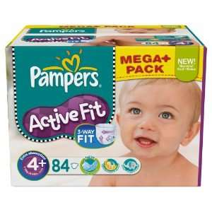 Pampers Active Fit Mega+Pack für 19,97