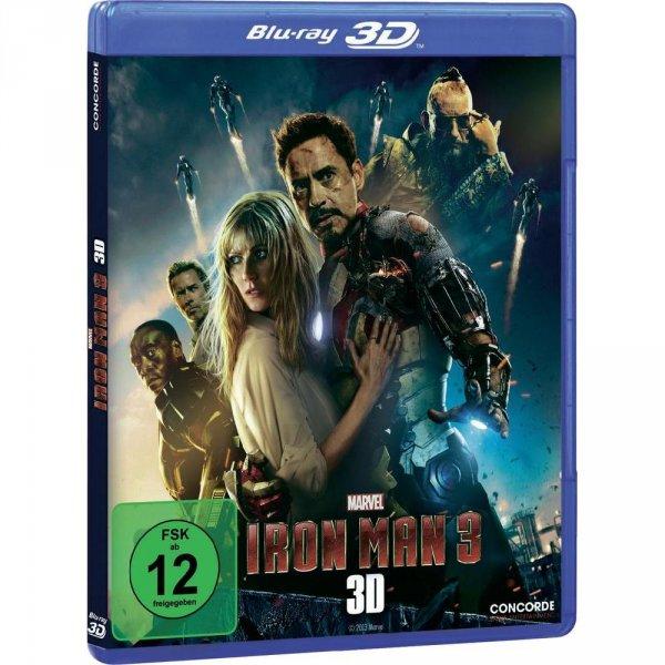 Blu-Ray 3D Iron Man 3 & Fast and Furious 6  zusammen für unter 24,- EUR