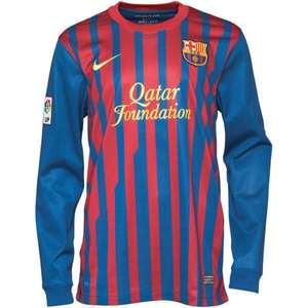 Nike Herren FCB Barcelona Heimspiel Langarmtrikot für 22,97 € @ MandMDirect