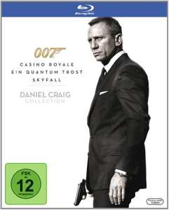 Daniel Craig 007 Collection [DE-Version] für 12,89€ inkl. VSK
