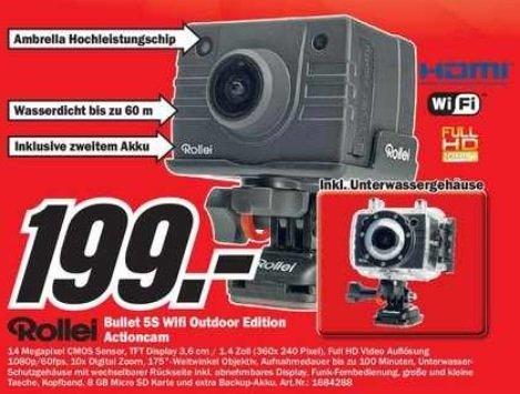 [lokal Berlin/ Brandenburg Media Markt] Rollei Bullet 5S WIFI Outdoor Edition !!!