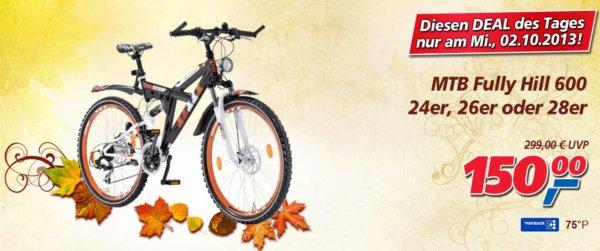 [OFFLINE] MTB Bike nur heute beim REAL-Markt für 150€ statt 299€