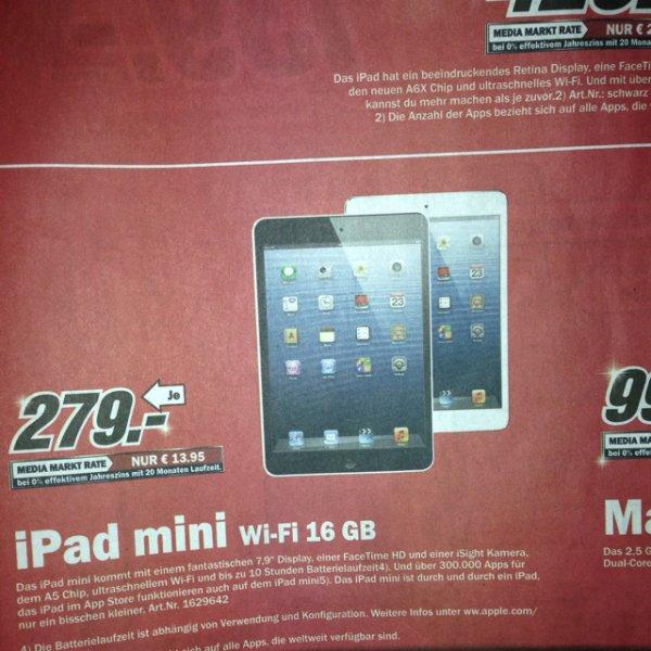 [Local]Ipad Mini Wi-Fi 16GB 279€ Media Markt Wuppertal