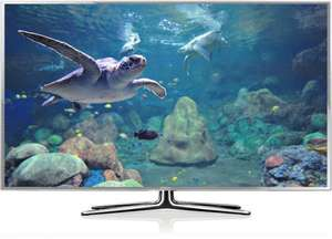 "Samsung UE46ES6990 116cm/ 46"" - 3D LED TV in silbern. Design (Gamescom Model!)"