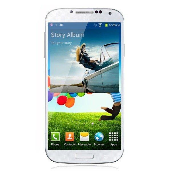 NO.1 S6 (HD Display, 1GM RAM, 5 Zoll, 13 MP, 2600mAh Akku) - Genialer Galaxy S4 Klon für 169,40€ inkl. Versand bei Lenteen.de
