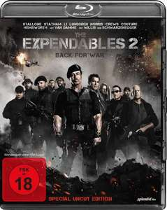 The Expendables 2 - Back for War (Special Uncut Edition) [Blu-ray] @Edeka Wittenberg
