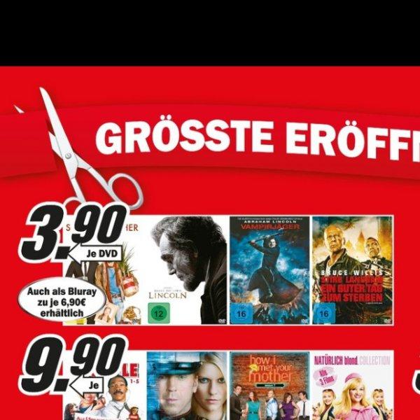 Blu-ray Stirb Langsam 5 - lokal Mediamarkt Aachen, Eschweiler, Hückelhoven, Herzogenrath - auch 24 Complete Box u.a.