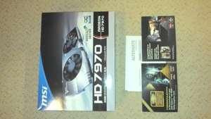 MSI Radeon HD 7970 Twin Frozr Boost Edition + 5 Spiele @ebay