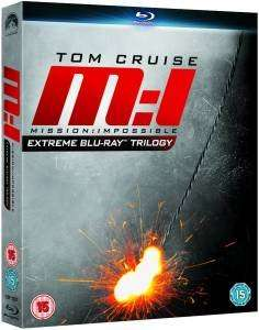 Mission : Impossible - Die Blu-ray Trilogie Box für 9,48€ [7,99£] @zavvi