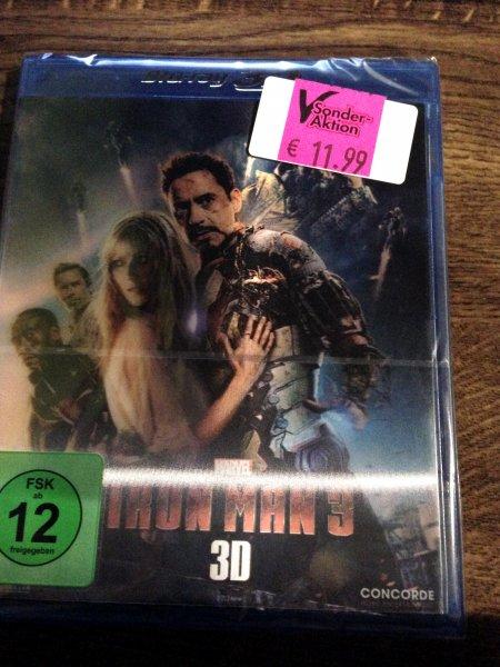 [Lokal - Expert Kronach] Iron Man 3 - 3D (Lenticular Edition) BluRay