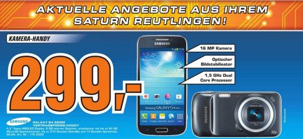 Samsung Galaxy S4 Zoom @ Saturn Reutlingen