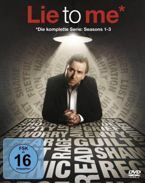 Lie to Me – Die komplette Serie für 29 €