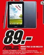 "(lokal:Bayreuth MM) ASUS MeMo Pad 7"" 16GB ME172V und weitere Bayreuther-MM Angebote..."