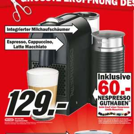 [Lokal?] DeLonghi Nespresso Umilk Media Markt Hamburg