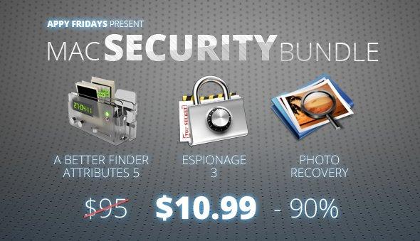 Das Mac Security Bundle mit 3 Apps für nur 8,11€