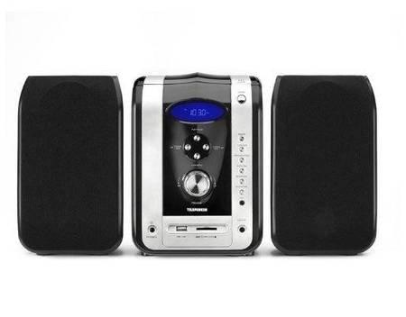 Telefunken M25 Hi-Fi Kompaktanlage - USB-Anschluss / SD-Kartenslot für MP3, PLL-Tuner, CD, CD-R und MP3-CD - MP3-Encoding auf USB/SD  @meinpaket für 29,99€