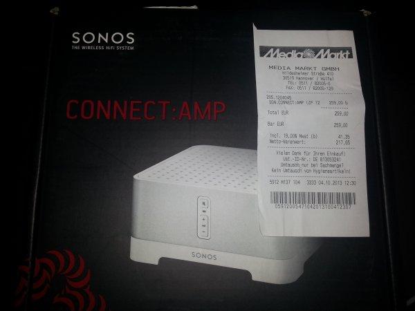 [Lokal] Hannover-Wülfel Sonos Connect:Amp 259€