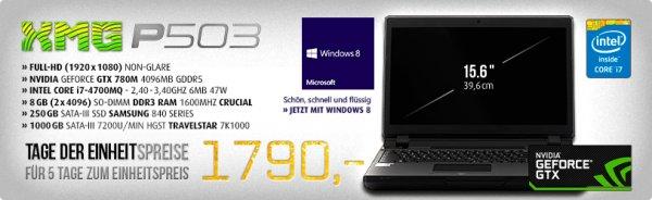 Einheitspreise bei mySN.de | Schenker XMG Laptops
