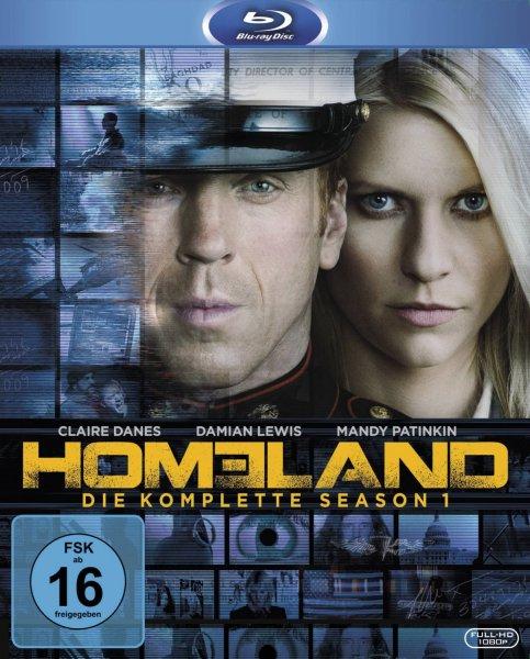 Homeland Staffel 1 Bluray - jetzt wieder für 14.90€ bei Media Markt!