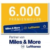 1/2 Jahr BUNTE für 83,20€ + 6000 Miles and More Meilen