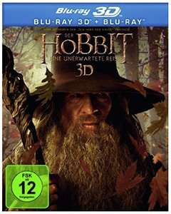 Der Hobbit in 3D BluRay@Amazon WHD