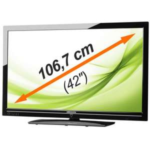 "MEDION MD 30580 X17017 LED Full HD TV 42""/ 106,7cm DVB-T/-C/-S2"
