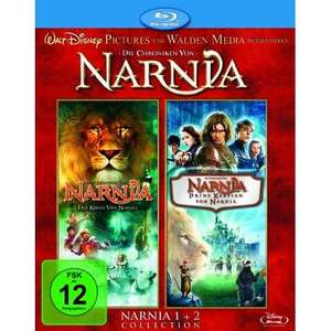 Chroniken von Narnia Teil 1+2 BluRay Box