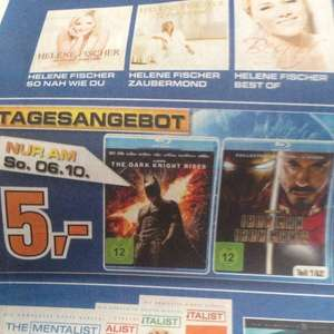 [Saturn Dortmund] Batman Rises / Iron Man 1&2 BluRay nur am 06.10.